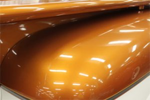 Orange Copper Candy Pearl - Metallic Bronze Pigment