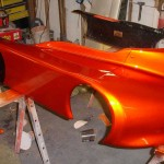 Copperhead Go Kart painted with our Gold Interference Pearl®