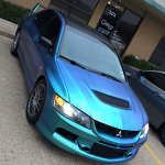 Eclipse Auto Salon uses ColorShift Pearls 4779BG on this custom paint job.