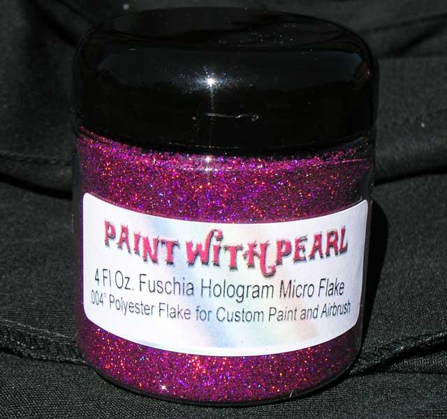 Fuchsia Holographic Flake