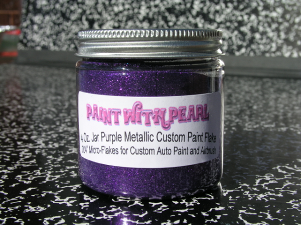 Purple Metal Flake | Paint Pearls