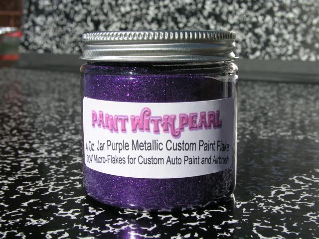 Purple Metal Flake | Paint Pearls