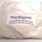 25 gram bag of Blue Shimmer Ghost Pearl