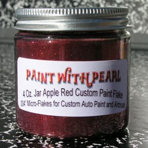 Apple Red Metal Flake