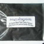 25 Gram Bag Gunmetal Black DIY Paint Colors ®.