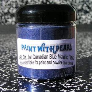 Canadian Blue Metal Flake
