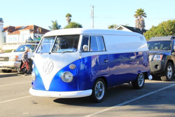 Royal Blue DIY Paint Colors VW Micro Bus Van.