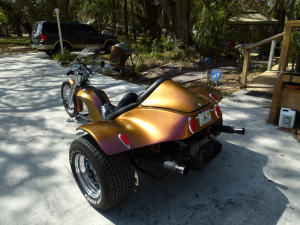ColorShift Pearls Job on a Trike with our 4739OR.