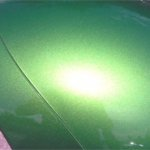 Apple Green DIY Paint Colors Headlight