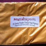 25 Gram Bag of Bright Orange DIY Paint Colors