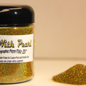 Gold Holographic Metal Flake
