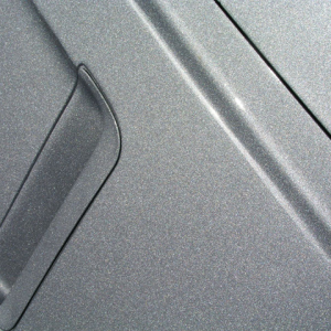 Silver Crystal Ghost Pearl ontop of car