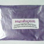Bag of Violet DIY Paint Colors ®