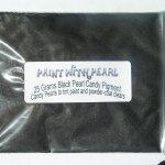 25 Gram Bag Gunmetal Black DIY Paint Colors ®.