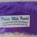 25 gram Bag of Deep Purple DIY Paint Colors