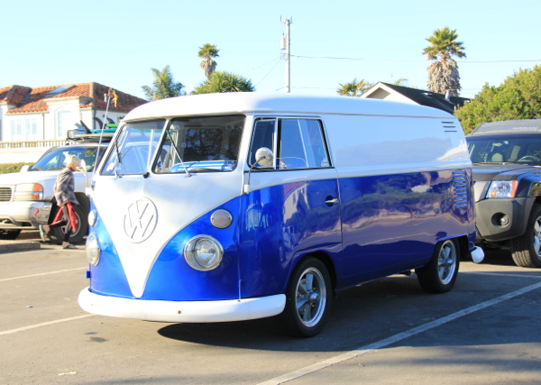 Royal Blue DIY Paint Colors VW Micro Bus Van.