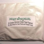 25 gram bag of Green Shimmer Ghost Pearl