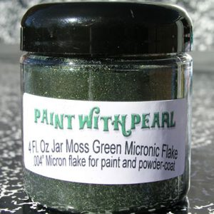 Moss Green Metal Flake - Army Green Sparkle
