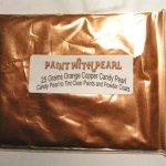 25 Gram Bag Orange Copper DIY Paint Colors