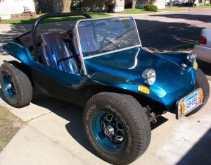 Strato Blue Metal Flake Buggy