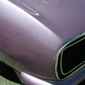 Violet DIY Paint Colors - A Light Purple Metallic Pigment