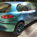4779 Blue Green Purple super flash Colorshift Pearl  on an Alfa Romeo