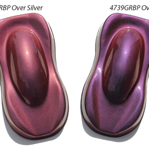 Gold Red Blue Purple ColorShift Pearls 4739GRBP