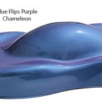 Blue Purple Flip Paint ColorShift Pearls flip two colors and cost less.