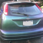 red green blue 4739RG chameleon pigment painted ford focus