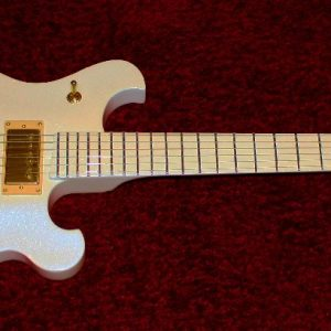Ghost and Chemeleon Pearl guitar paint for that custom paint look.