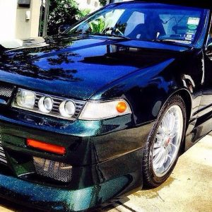 Nissan Cefiro with our Gold Green Blue Colorshift Pearl s.