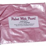 25 Gram Bag of Deep Pink DIY Paint Colors for custom paint and coatings of every kind.